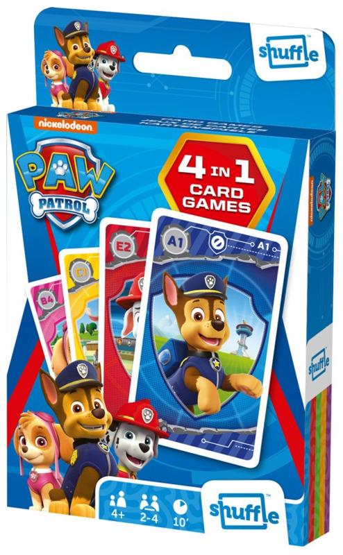Shuffle: 4-In-1 Card Games - Paw Patrol