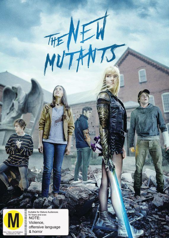 The New Mutants on DVD