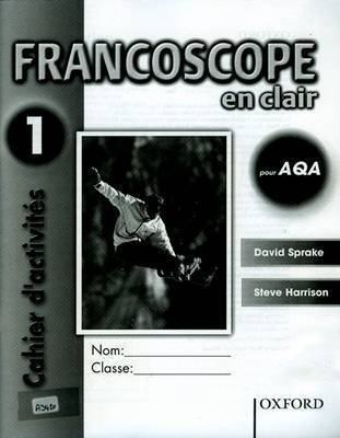 Francoscope en Clair pour AQA: Workbook 1 by David Sprake