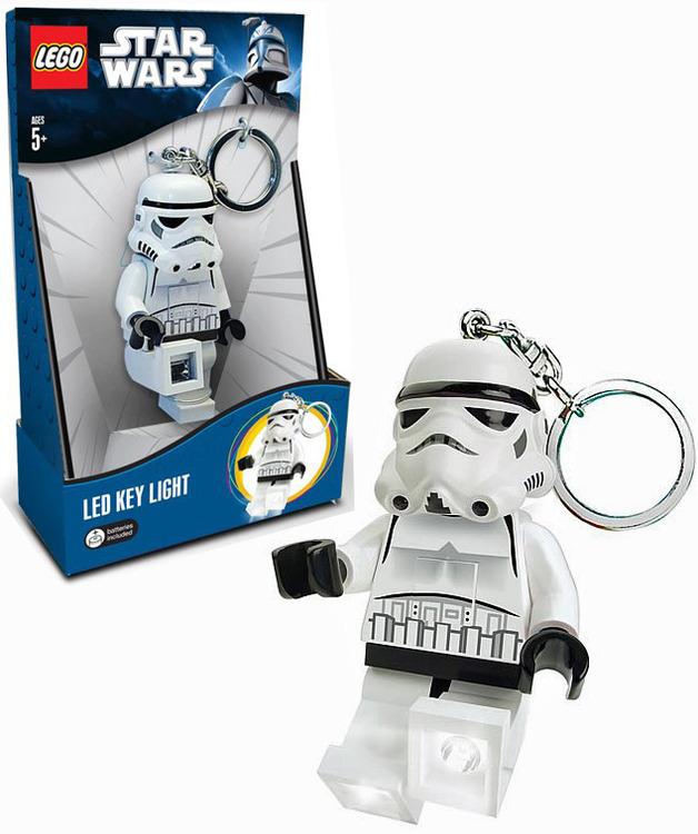 LEGO Star Wars Keyring LED Light - Stormtrooper