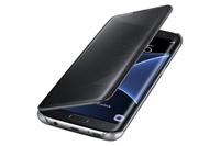Samsung Galaxy S7 Edge Clear View Cover - Black