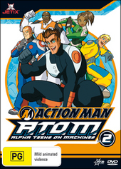 Action Man - A.T.O.M.: Alpha Teens On Machines - Vol. 2 on DVD