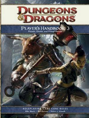 Player's Handbook 3: A 4th Edition D&D Core Rulebook by Mike Mearls