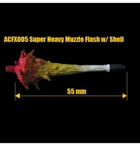 Super Heavy Muzzle Flash with Shell Armorcast