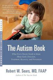 The Autism Book by Robert Sears image