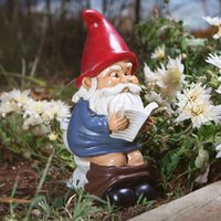 BigMouth: Garden Gnome On A Throne