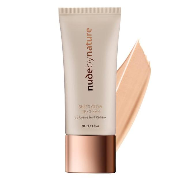 Nude by Nature Sheer Glow BB Cream - #02 Soft Sand (30ml)