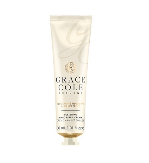 Grace Cole: Hand & Nail Cream - Nectarine Blossom & Grapefruit (30ml)