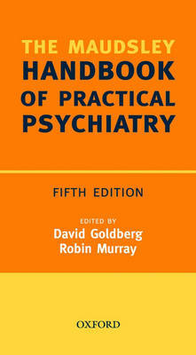 Maudsley Handbook of Practical Psychiatry by Prof. David Goldberg image