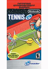 Tennis (e-Reader) for GBA