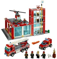 LEGO City - Fire Station (60004)
