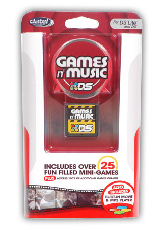Datel Games n Music for Nintendo DS