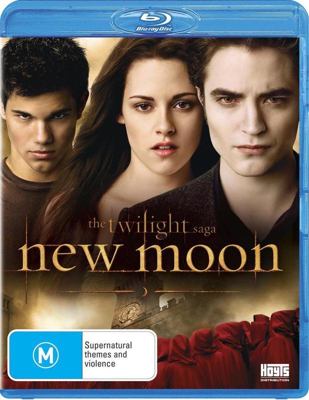 The Twilight Saga: New Moon on Blu-ray