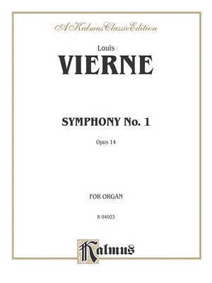 Symphony No. 1, Op. 14 by Louis Vierne
