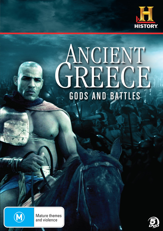 Ancient Greece - Gods and Battles on DVD