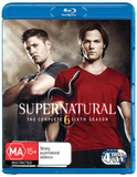 Supernatural - Season 6 on Blu-ray