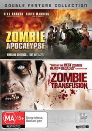 Zombie Apocalypse / Zombie Transfusion (2 Disc Set) on DVD image
