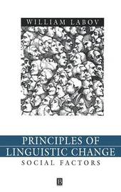 Principles of Linguistic Change, Volume 2 by William Labov image