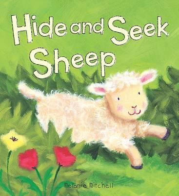 Padded Animal Board Book: Hide and Seek Sheep image