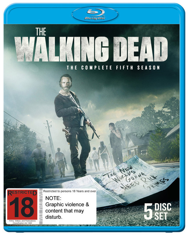The Walking Dead - The Complete Fifth Season on Blu-ray