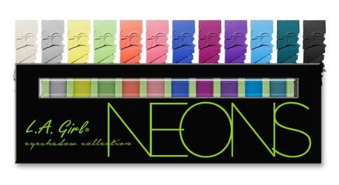 LA Girl Beauty Brick Eyeshadow - Neons
