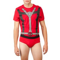 Marvel Deadpool Mens Underoo Set - Small image