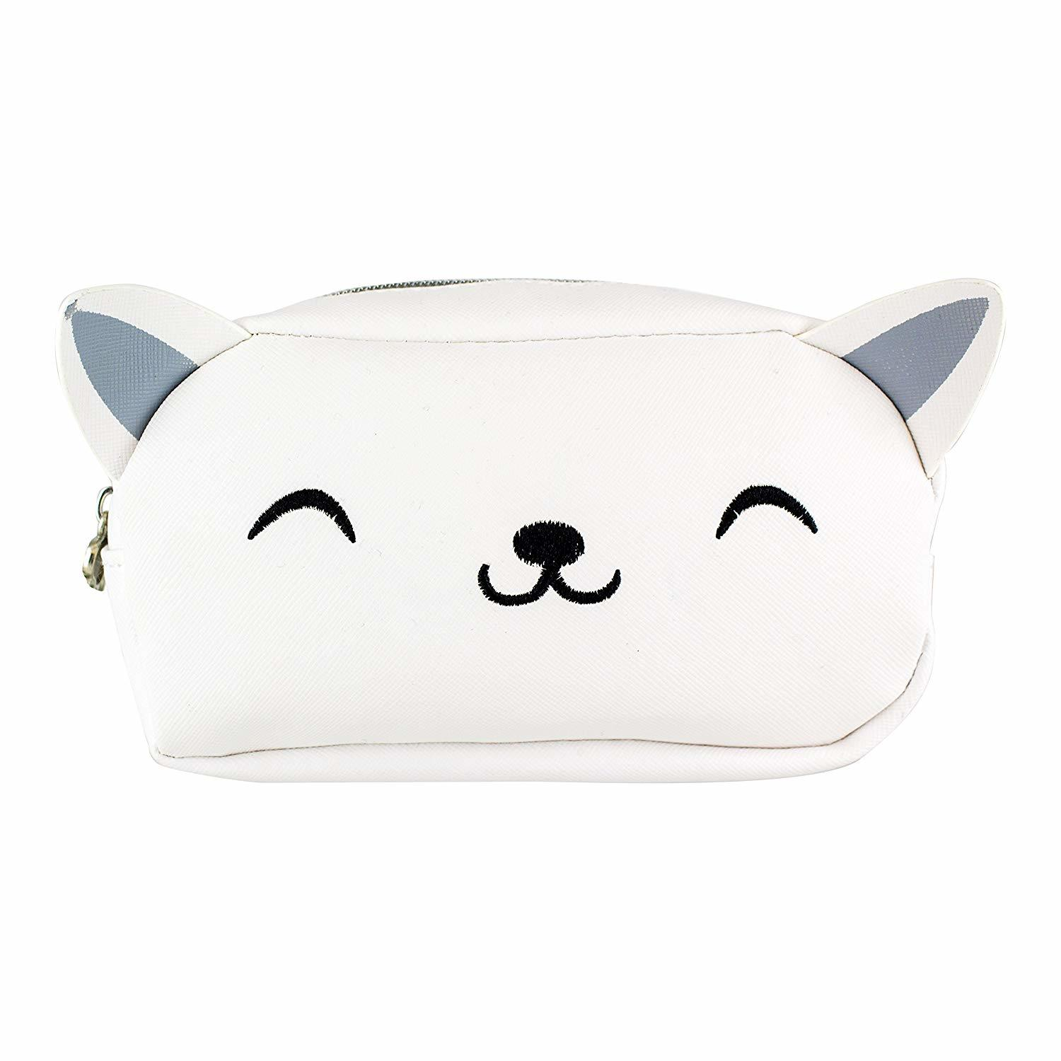 My Kawaii: 'Meow Do I Look' Toiletry Bag image