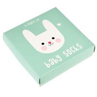 Baby Socks - Bunny (4 Pair)
