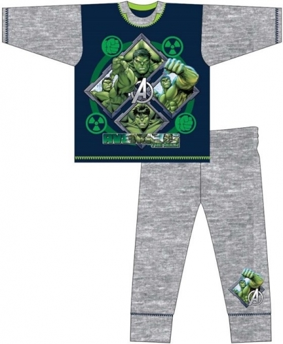 Marvel: The Incredible Hulk Kids Pyjama Set - 4-5