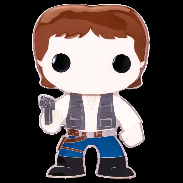 "Star Wars: Han Solo - 4"" Pop! Pin"