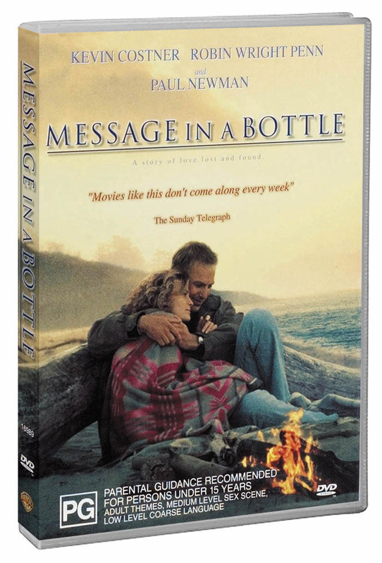 Message In A Bottle on DVD