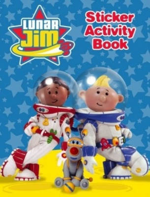 Lunar Jim Sticker Book by Lunar Jim