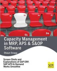 Capacity Management in MRP, APS & S&op Software by Shaun Snapp