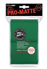 Ultra Pro: Pro-Matte Deck Protectors - Standard Green (100ct)