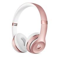 Beats by Dre Solo3 Wireless On-Ear Headphones (Rose Gold)