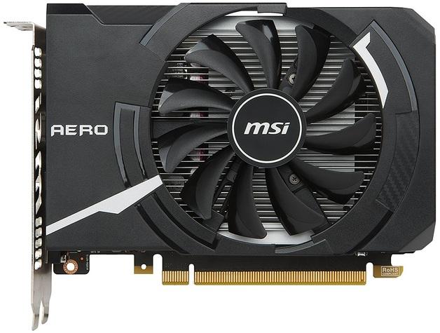 MSI GeForce GTX 1050 Aero 2GB OC V1 Graphics Card