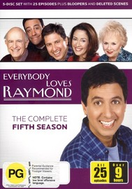 Everybody Loves Raymond - The Complete Fifth Season (5 Disc Set) on DVD image
