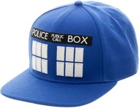 Doctor Who Tardis Blue - Snapback Cap