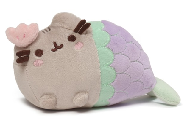 Pusheen the Cat: Mermaid - Clam Shell Plush (18cm)