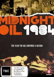 Midnight Oil 1984 on DVD