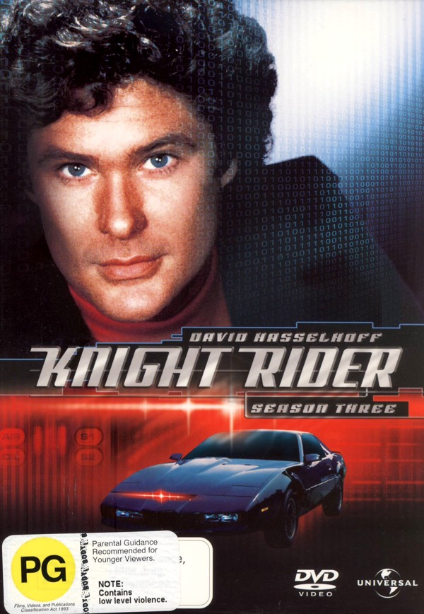 Knight Rider - Season 3 (6 Disc Box Set) on DVD image