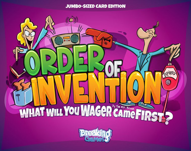 Order of Invention - Card Game