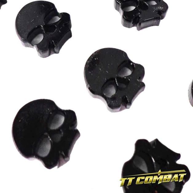 TTCombat: Skull Token Set - Black