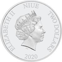 NZ Mint: Mortal Kombat - Silver Coin (1oz Silver)