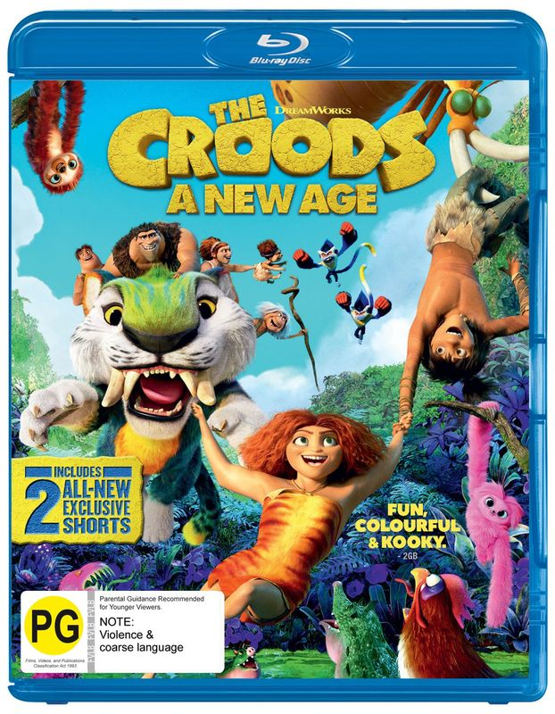 The Croods 2: A New Age on Blu-ray