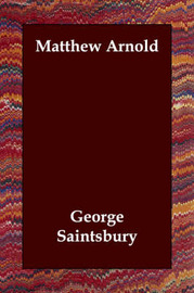 Matthew Arnold by George Saintsbury image