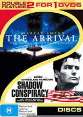 Arrival, The / Shadow Conspiracy - Double Feature (2 Disc Set) on DVD
