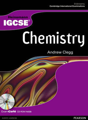Heinemann IGCSE Chemistry Student Book by Andrew Clegg image