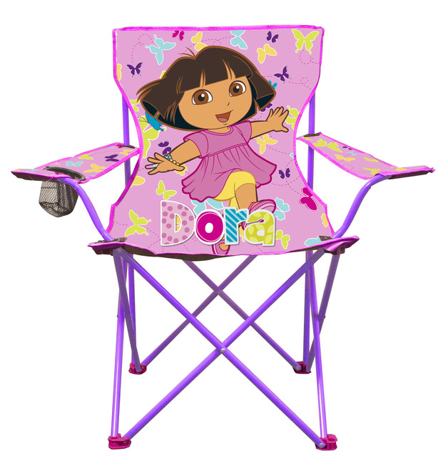 Dora the Explorer C&ing Chair - Small  sc 1 st  Mighty Ape & Dora the Explorer Camping Chair - Small | Toy | at Mighty Ape NZ