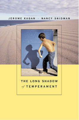 The Long Shadow of Temperament by Jerome Kagan image